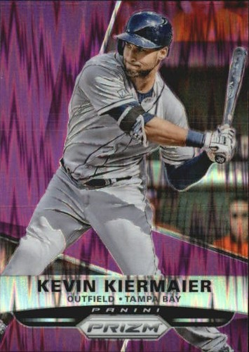 Photo of 2015 Panini Prizm Prizms Purple Flash #103 Kevin Kiermaier
