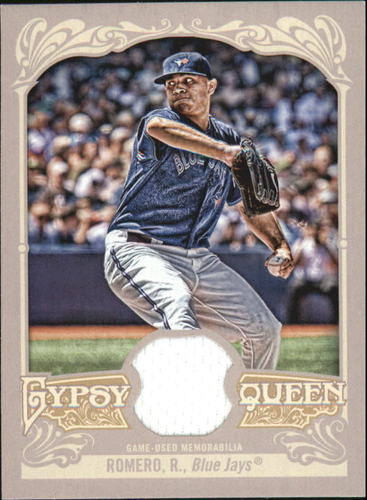 Photo of 2012 Topps Gypsy Queen Relics #RR Ricky Romero