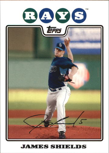Photo of 2008 Topps #495 James Shields