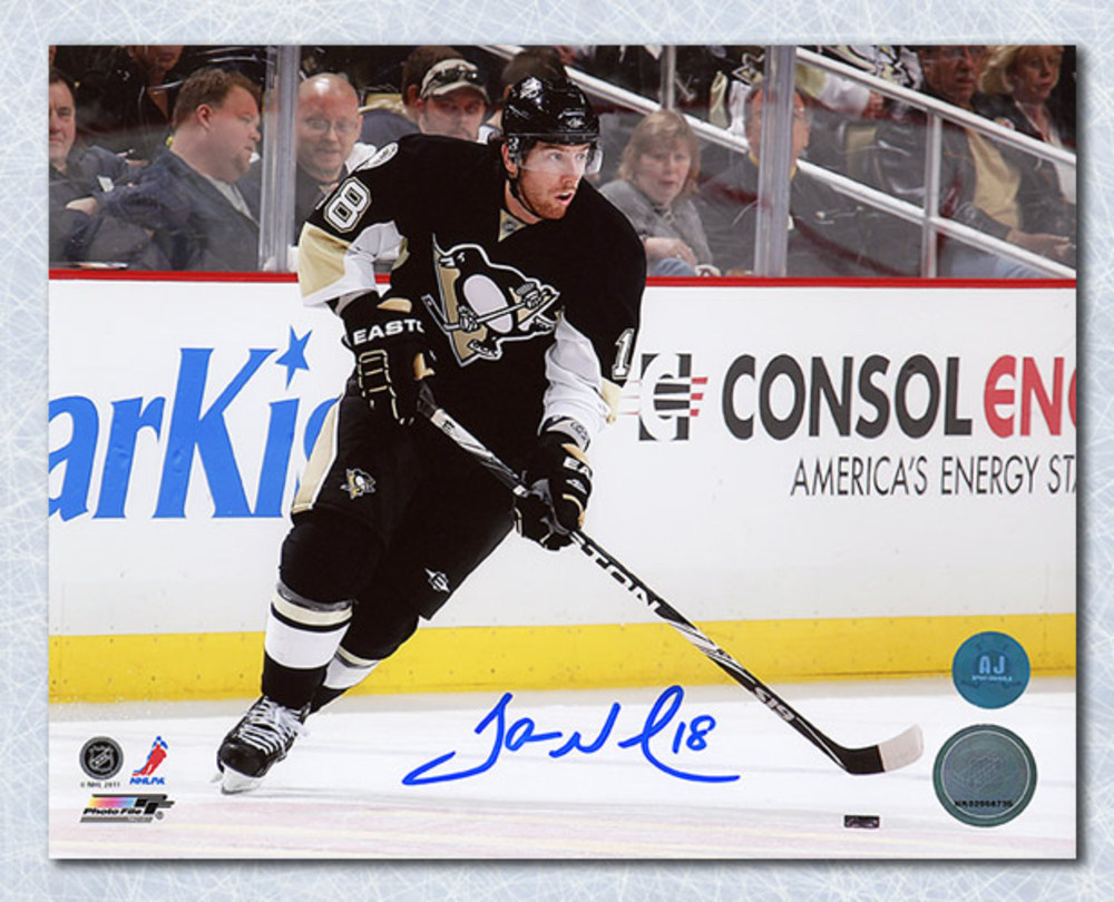 James Neal Pittsburgh Penguins Autographed Action 8x10 Photo