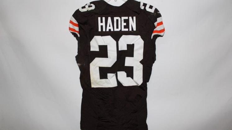 joe haden game worn jersey