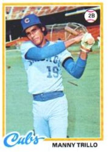 Photo of 1978 Topps #123 Manny Trillo