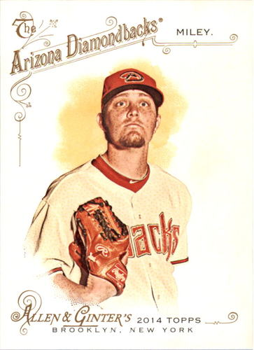 Photo of 2014 Topps Allen and Ginter #197 Wade Miley
