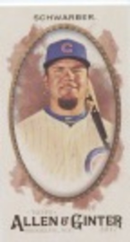 Photo of 2017 Topps Allen and Ginter Mini #124 Kyle Schwarber