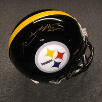 PCC - STEELERS ANTONIO BROWN SIGNED STEELERS PROLINE HELMET