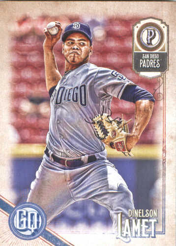 Photo of 2018 Topps Gypsy Queen #120 Dinelson Lamet