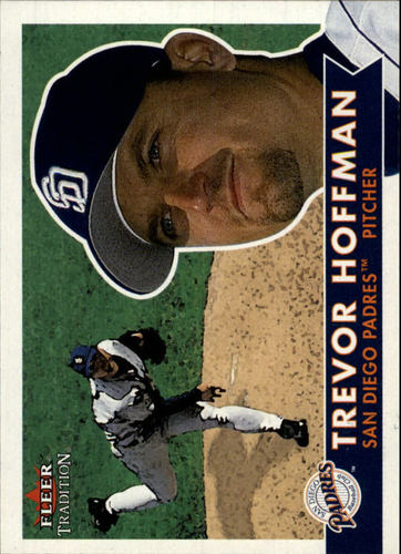Photo of 2001 Fleer Tradition #208 Trevor Hoffman -- Newest Hall of Famer Class of 2018
