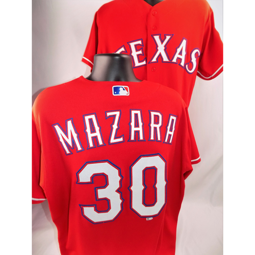Photo of Nomar Mazara Game-Used Jersey - Worn June 29, 2018 vs. Chicago White Sox (Went 2-4, HR #15)  - Size 48