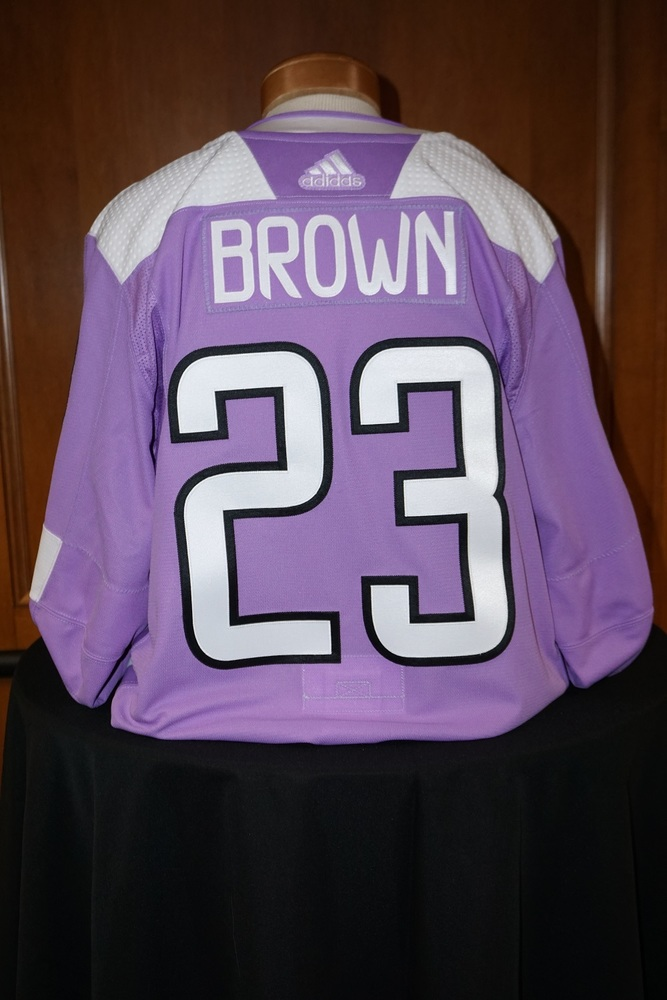 J.T. Brown  Minnesota Wild 2018-19 HFC Warm-Up Jersey (Size 56)