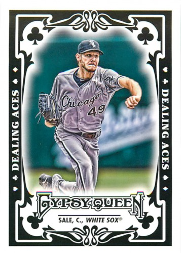 Photo of 2013 Topps Gypsy Queen Dealing Aces #CS Chris Sale