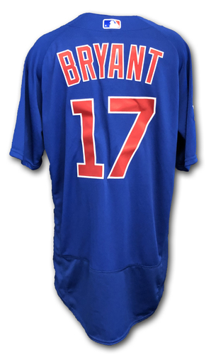Photo of Kris Bryant Team-Issued Jersey -- Size 46 -- Spring Training 2019