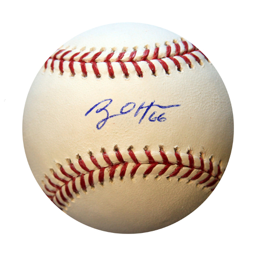Photo of Autographed Baseball: Ryan OHearn