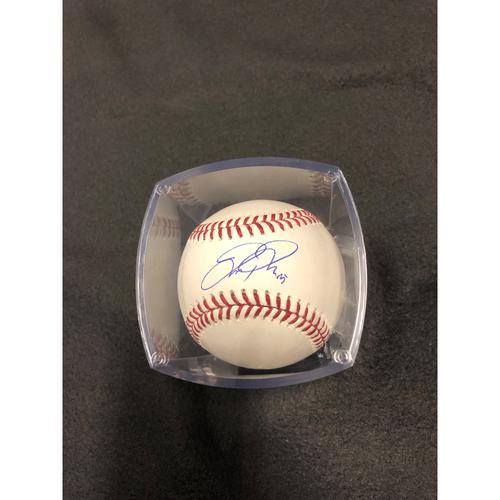 Photo of Joc Pederson Authentic Autographed Baseball