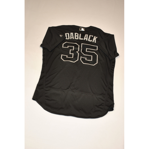 "Photo of Dwight ""DABLACK"" Smith Jr. Baltimore Orioles Team-Issued 2019 Players' Weekend Jersey"