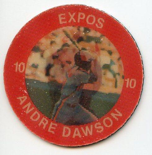 Photo of 1984 Seven-Eleven Coins #E1 Andre Dawson