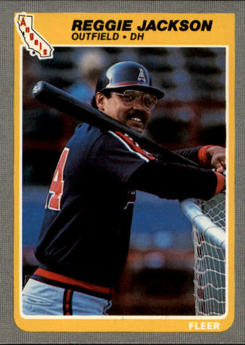 Photo of 1985 Fleer #303 Reggie Jackson