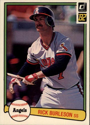 Photo of 1982 Donruss #342 Rick Burleson