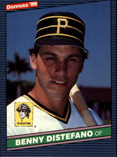 Photo of 1986 Donruss #78 Benny Distefano