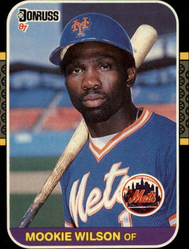 Photo of 1987 Donruss #487 Mookie Wilson