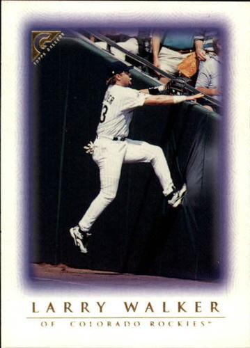 Photo of 1999 Topps Gallery #4 Larry Walker