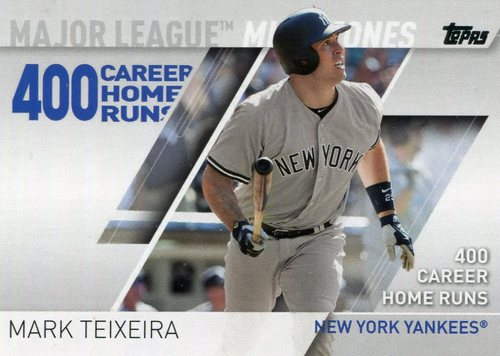 Photo of 2017 Topps Major League Milestones #MLM18 Mark Teixeira