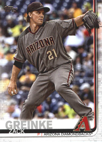 Photo of 2019 Topps #661 Zack Greinke