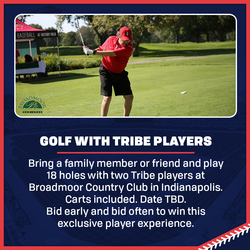 Photo of Golf w/ Tribe Players at Broadmoor Country Club