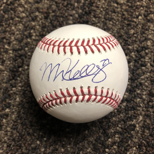 Photo of Merrill Kelly Autographed Baseball
