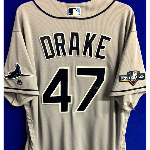 Photo of Team Issued Postseason Autographed Jersey: Oliver Drake