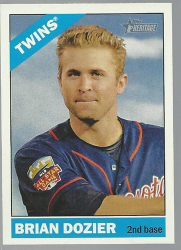 Photo of 2015 Topps Heritage #120 Brian Dozier