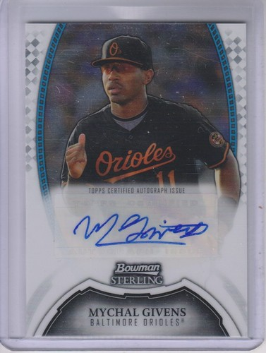 Photo of 2011 Bowman Sterling Prospect Autographs #MG Mychal Givens