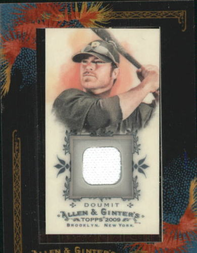 Photo of 2009 Topps Allen and Ginter Relics #RD Ryan Doumit Jsy D