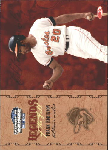 Photo of 2004 Donruss World Series Legends of the Fall #9 Frank Robinson