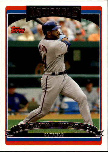 Photo of 2006 Topps #210 Preston Wilson