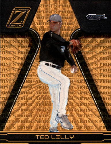 Photo of 2005 Zenith Artist's Proofs Gold #7 Ted Lilly /50