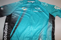 DOLPHINS - JA'WUAN JAMES SIGNED DOLPHINS CANCER CHALLENGE JERSEY W/ ZIPPER - SIZE XL