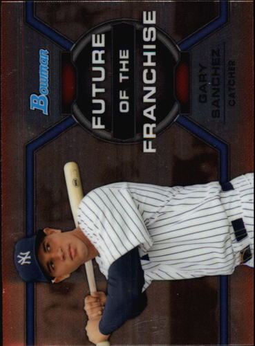 Photo of 2013 Bowman Draft Future of the Franchise #GS Gary Sanchez