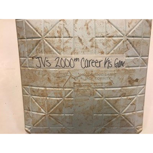 Photo of Game-Used Base: Justin Verlander's 2000th Career Strikeout Game
