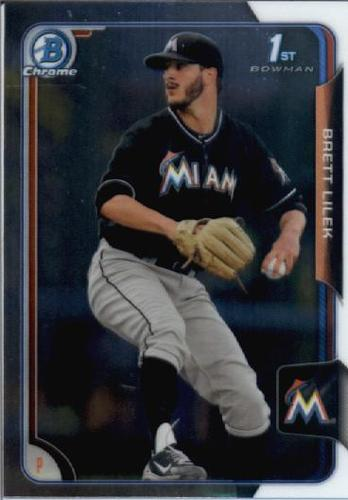 Photo of 2015 Bowman Chrome Draft #61 Brett Lilek