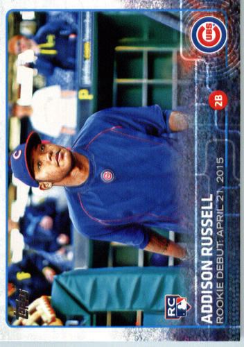 Photo of 2015 Topps Update #US208 Addison Russell Rookie Card