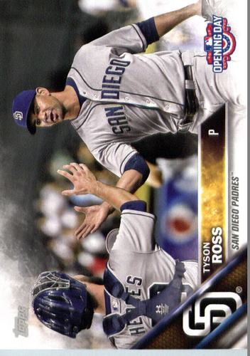 Photo of 2016 Topps Opening Day #OD185 Tyson Ross