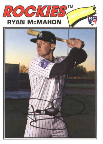 Photo of 2018 Topps Archives #175 Ryan McMahon RC