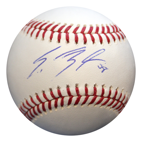 Photo of Autographed Baseball: Scott Barlow
