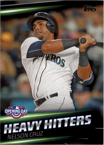 Photo of 2016 Topps Opening Day Heavy Hitters #HH7 Nelson Cruz