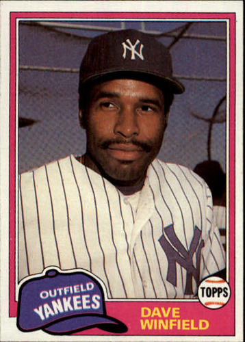 Photo of 1981 Topps Traded #855 Dave Winfield
