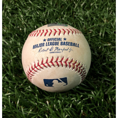 Game Used Baseball: Avisail Garcia inside-the-park home run off Clayton Richard - May 28, 2019 v TOR