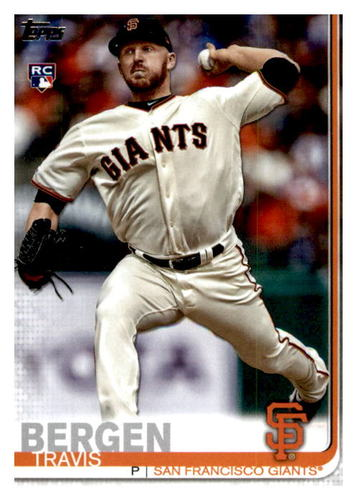Photo of 2019 Topps Update #US40 Travis Bergen RC