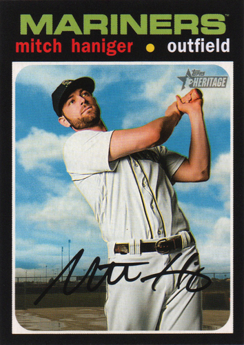 Photo of 2020 Topps Heritage #51 Mitch Haniger