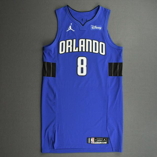 Image of Dwayne Bacon - Orlando Magic - Kia NBA Tip-Off 2020 - Game-Worn Statement Jersey