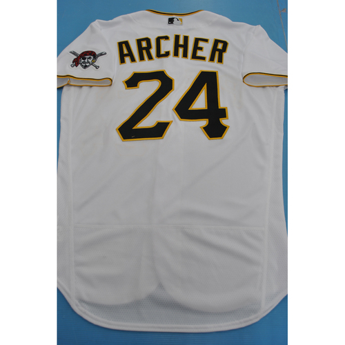 Photo of Chris Archer 2020 Team-Issued Home Jersey